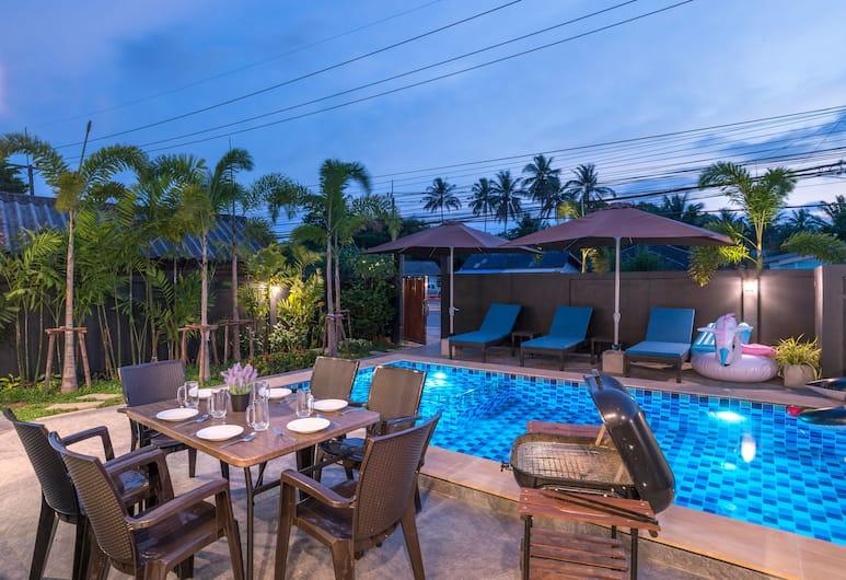 德納台私人游泳池別墅飯店, 喀比, 烤肉/野餐區