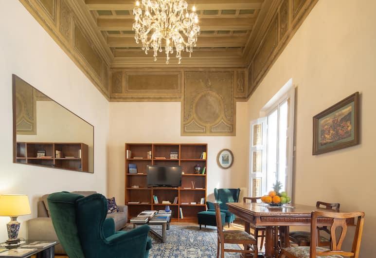 Ghibellina Classic, Florence, Classic Apartment, 1 Bedroom, Non Smoking, Ruang Tamu
