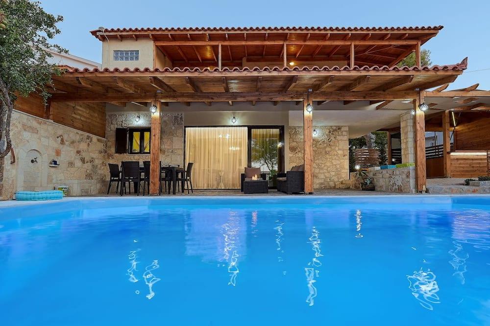Апартаменты, 3 спальни, отдельный бассейн, первый этаж - Индивидуальный бассейн