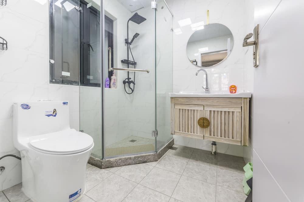 Deluxe-Doppelzimmer, 1 Schlafzimmer, Nichtraucher, Küche - Badezimmer