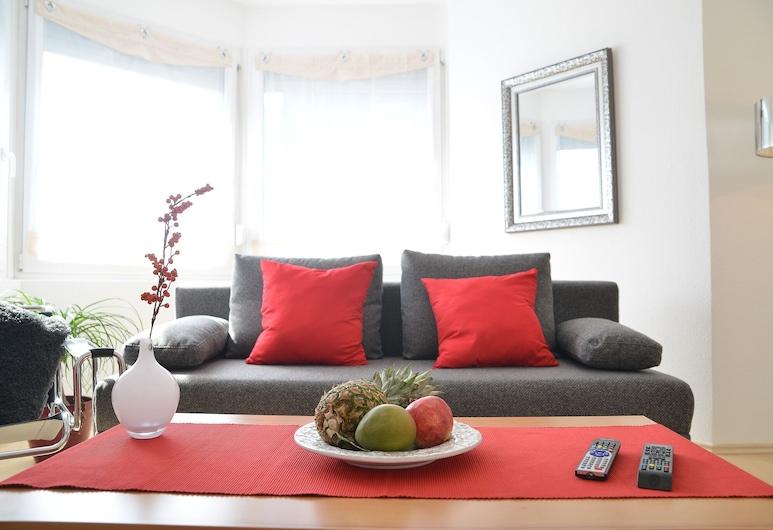 Sonnenhaus Ferienwohnungen, Traben Trarbach, Departamento, Sala de estar