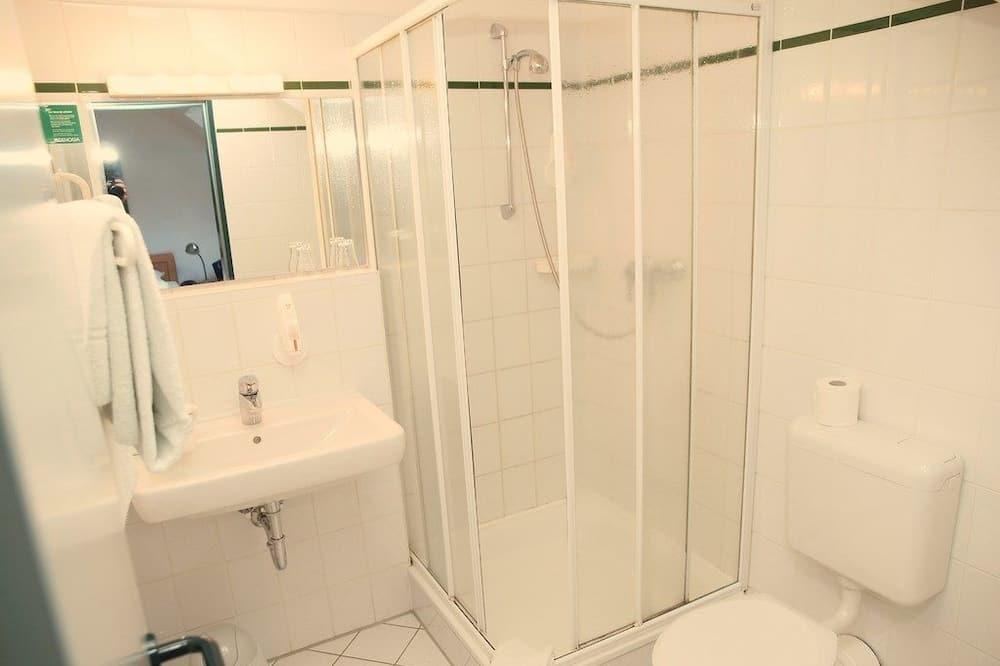 Номер з 2 односпальними ліжками, 2 односпальних ліжка - Ванна кімната