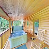 Cabane, 1 chambre - Bain à remous extérieur