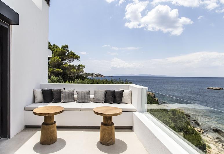 The Margi Villa, Vari-Voula-Vouliagmeni, Villa, 4Schlafzimmer, Whirlpool, Meerblick, Terrasse/Patio