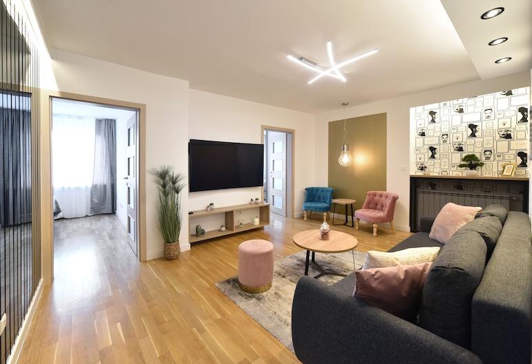 Apartment First Choice Ilica, Zagreb, Superior Apartment Ilica, Oturma Alanı