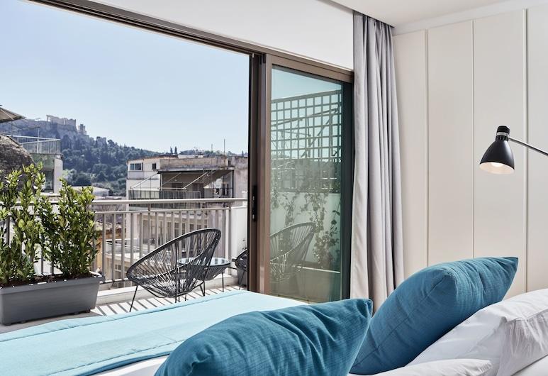 Micon Lofts, Atenas, Casa família, Várias camas, Terraço, Vista da varanda