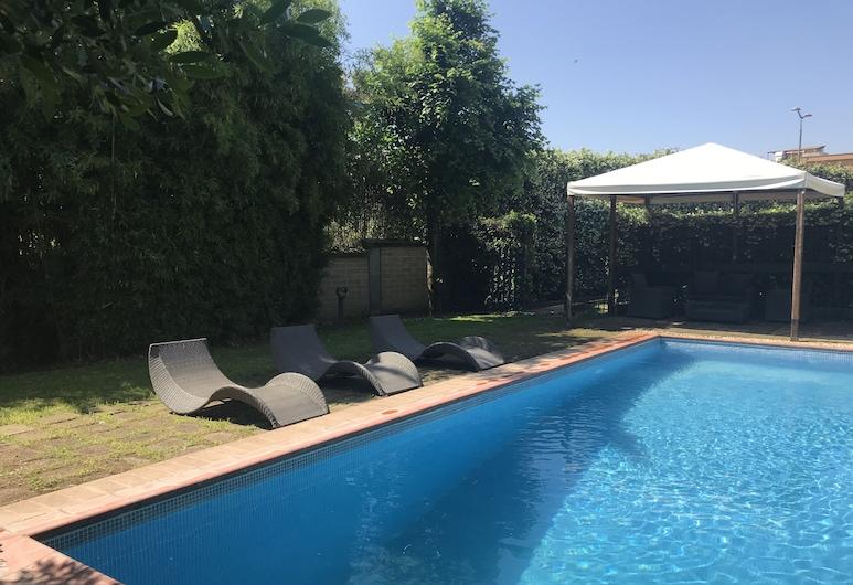 科羅納套房豪華 - 驚人別墅酒店, 羅馬, 室外泳池