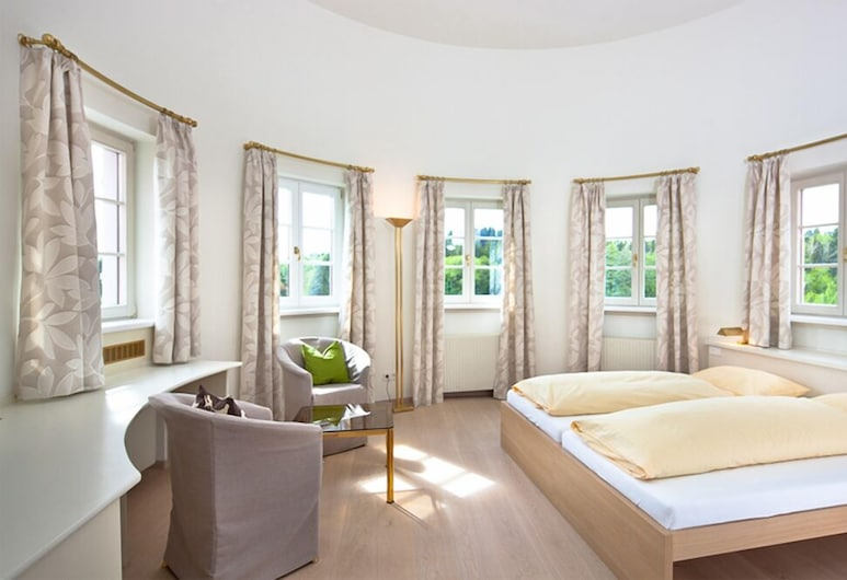 Golfhotel Bodensee, Weissensberg, Suite, Gjesterom