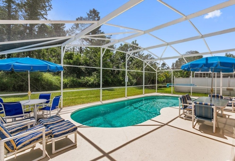4BR Pool Home Rolling Hills by SHV-7979, Kissimmee, Zwembad