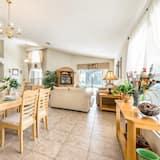 Casa, 4 habitaciones, piscina privada - Zona de estar