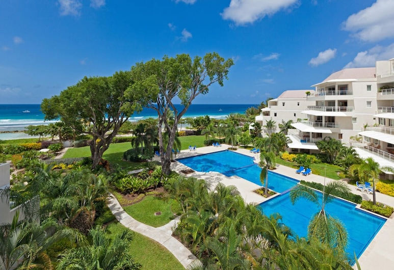 Palm Beach Condo 202  - A Vacation Rental by Bougainvillea Barbados, Hastings, Property Grounds