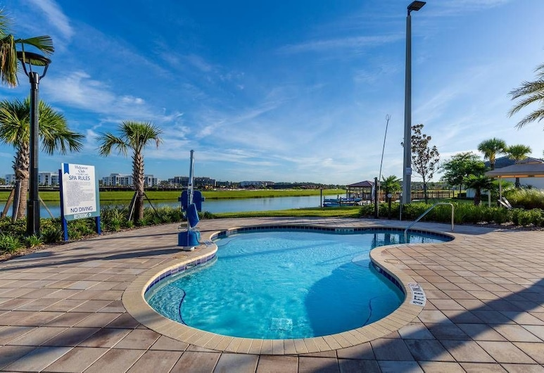 5BR Pool Home in Storey Lake by SHV-4817, Kissimmee, Outdoor Pool