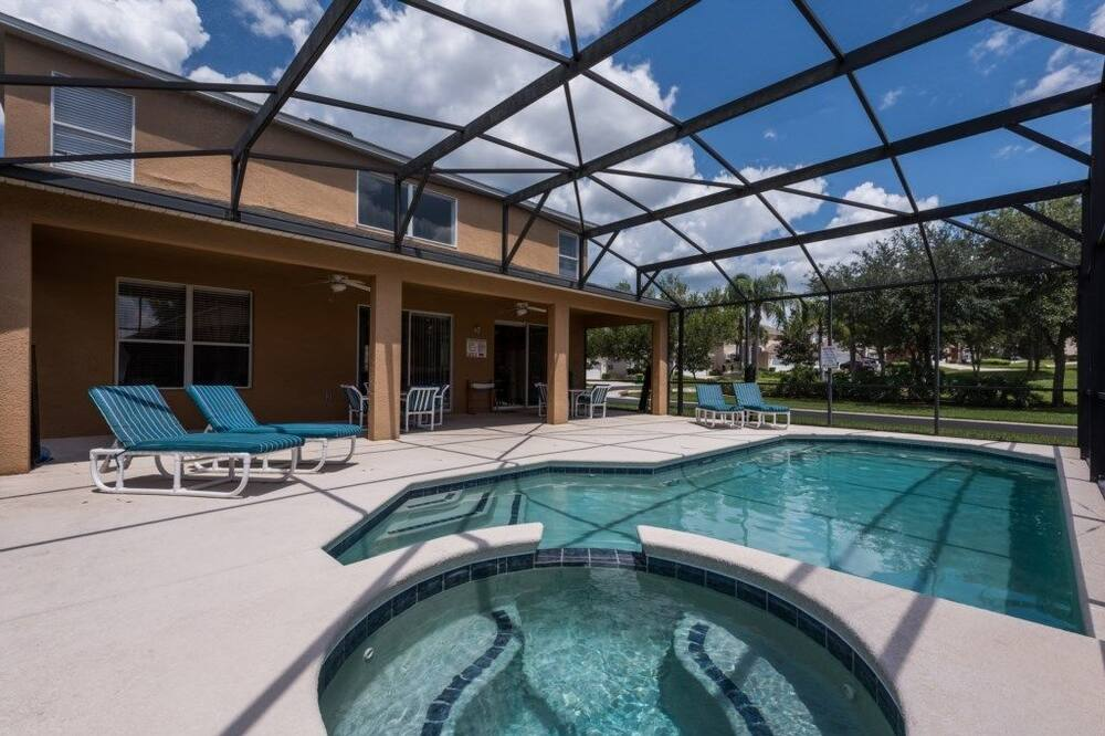 Hus - privat pool (7 Bedrooms) - Privat spabad