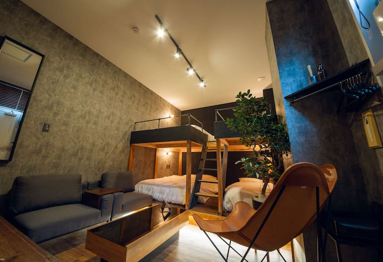 mizuka Imaizumi 3 - unmanned hotel, Fukuoka, Familienzimmer, Mehrere Betten, Nichtraucher, Zimmer