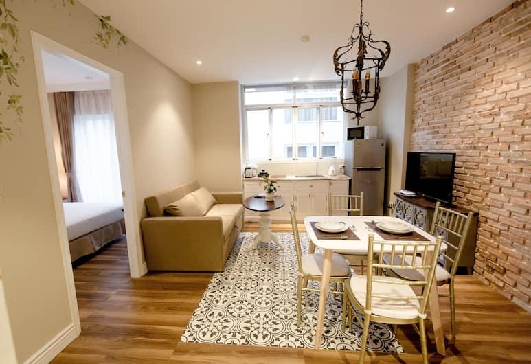 ザ ネスト サイゴン - スパロー, ホーチミン, デザイン アパートメント クイーンベッド 1 台, 部屋