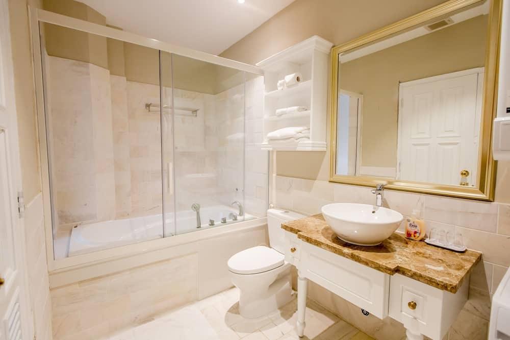 Lägenhet Design - 1 sovrum - balkong - Badrum