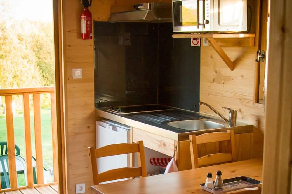 Mobile Home, 1 Double Bed with Sofa bed (Roulotte) - Living Area