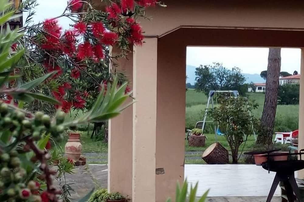 Departamento, 2 habitaciones, vista al jardín (Alloro) - Lanai