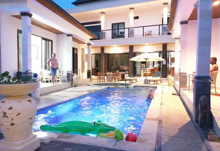 Villa Viking, Jimbaran, Luxury Bungalow Pool View, Udsigt fra værelset