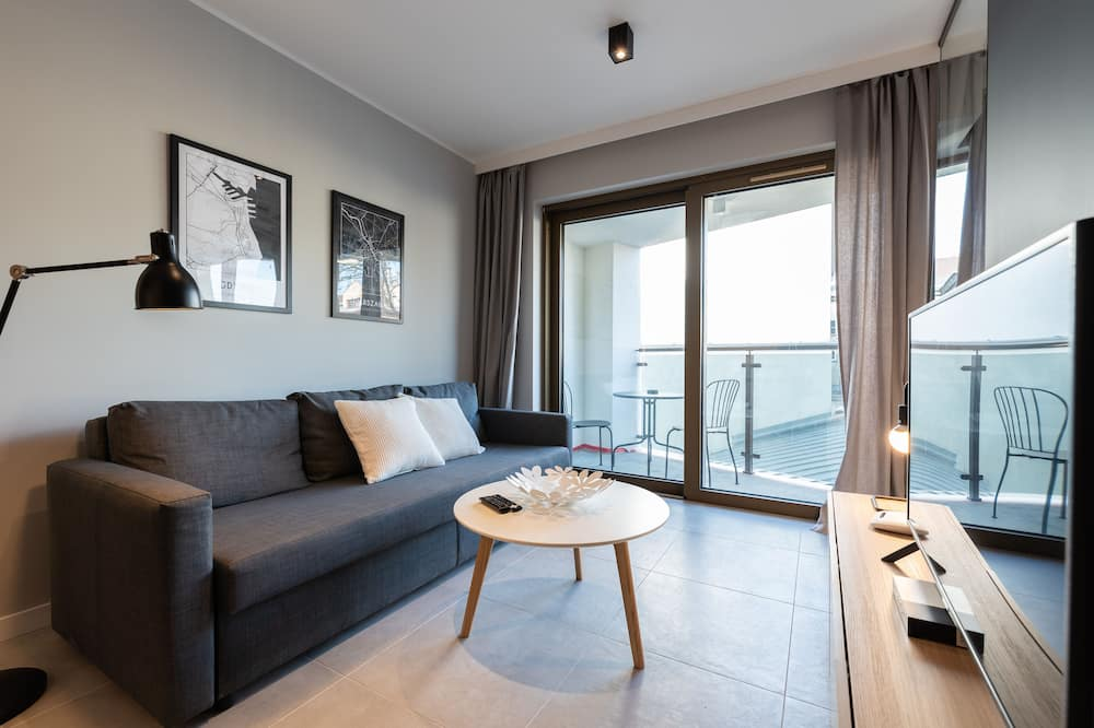 Business Apartment (3.3) - Ruang Tamu