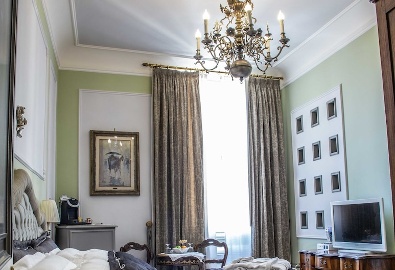 Bed and Breakfast Stanze del David Place, פירנצה, חדר דה-לוקס זוגי, חדר אורחים