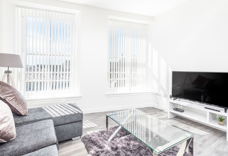 Casa Fresa - Cowgate Apartment, Dundee, Premium Apartment, Private Bathroom, City View, Room