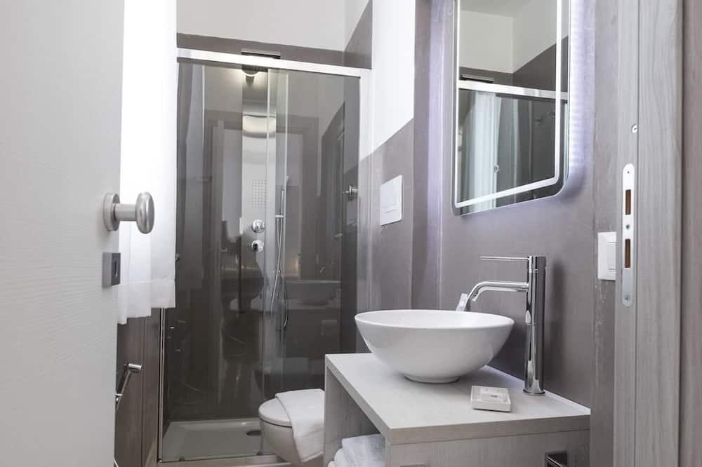 Dvojlôžková izba typu Superior, terasa - Kúpeľňa