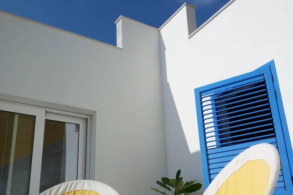 Quarto Duplo - Terraço/Pátio Interior