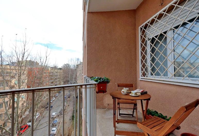 Chiara Guest House in San Paolo, Roma, Appartamento, 3 camere da letto, Balcone