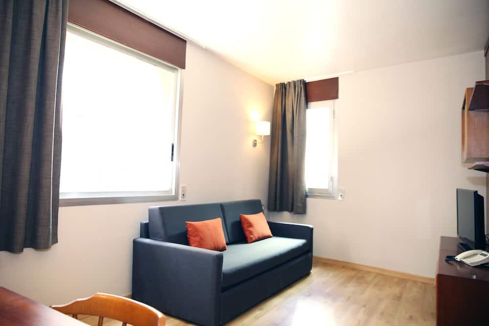 傳統公寓, 多張床, 非吸煙房, 城市景 (APARTAMENTO 2-4 PAX) - 客廳