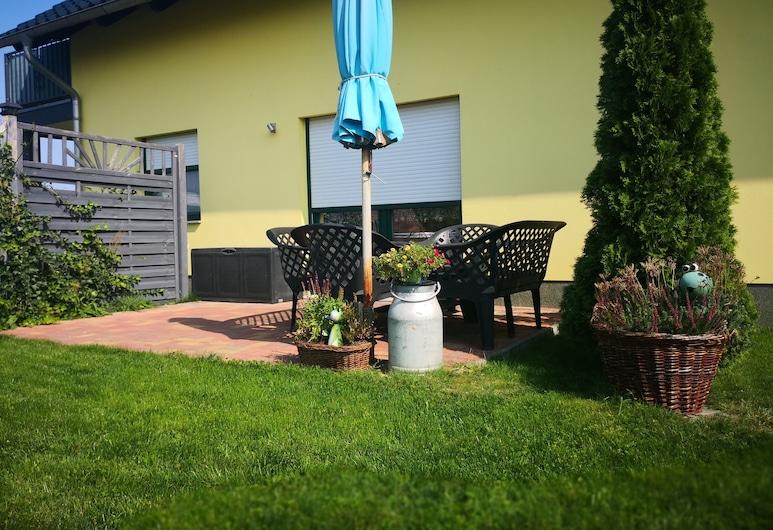 法赫拉曼施魯假日公寓飯店, Lübben (Spreewald), 公寓, 露台