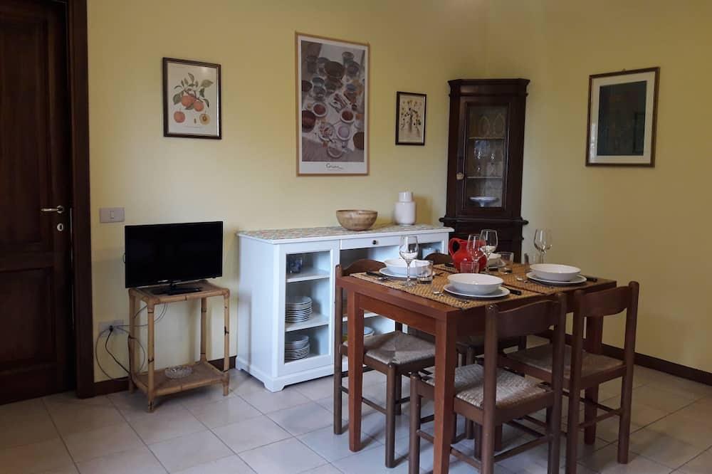 Standarta dzīvokļnumurs, divas guļamistabas (Lavanda) - Dzīvojamā zona