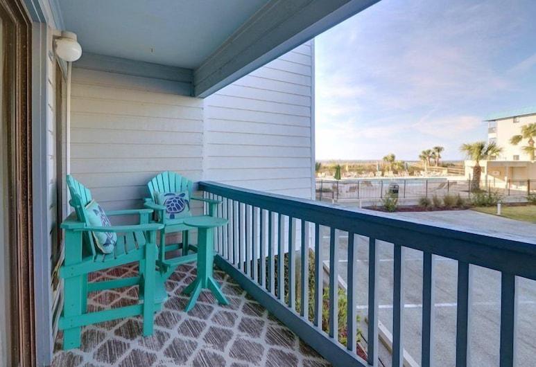 Beach and Racquet, Tybee Island, Condo, Multiple Beds (Beach and Racquet), Balcony