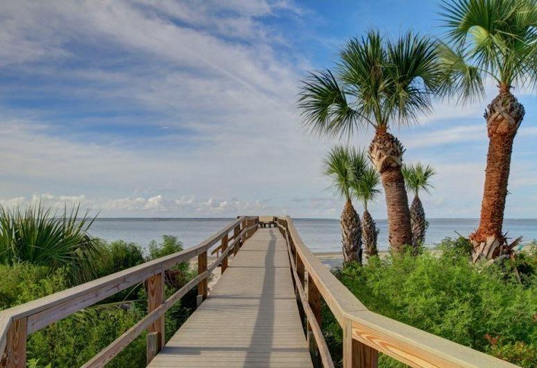 Beach and Racquet, Tybee Island, Dom, Pláž