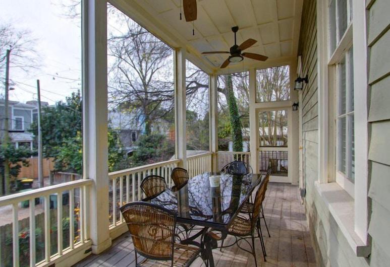 Forsyth Park West Mansion, Savannah, Kuća, Balkon