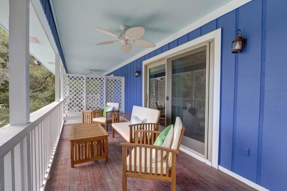 Maison, 2 grands lits (Deja Blue A) - Balcon