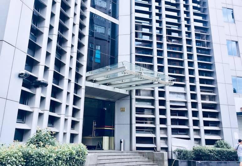 上海南京西路 coco 香奈兒 6 室 2 衛豪華景觀房, 上海市, 住宿入口