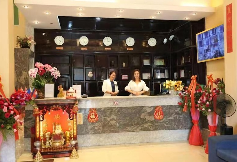 艾特 - 1 号 A1 酒店, 金边, 大堂