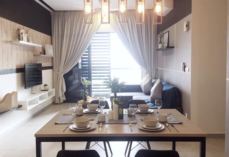 Petalz Residences Homestay by Push, Kuala Lumpur, Rumah, 3 kamar tidur, 2 kamar mandi (Modern Cosy Home), Tempat Makan Di Kamar