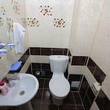 패밀리룸, 퀸사이즈침대 1개, 금연, 산 전망 - 욕실 편의 시설
