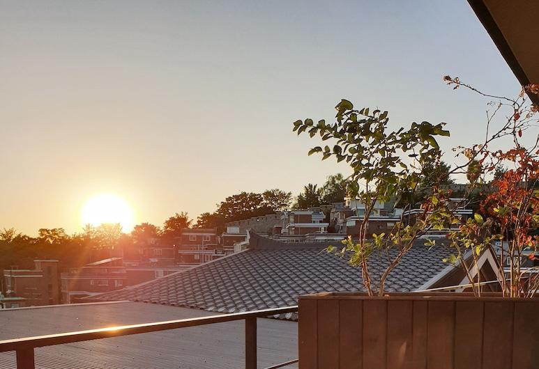 納克桑陽台飯店, 首爾, 獨棟房屋, 城市景觀 (Paris), 陽台