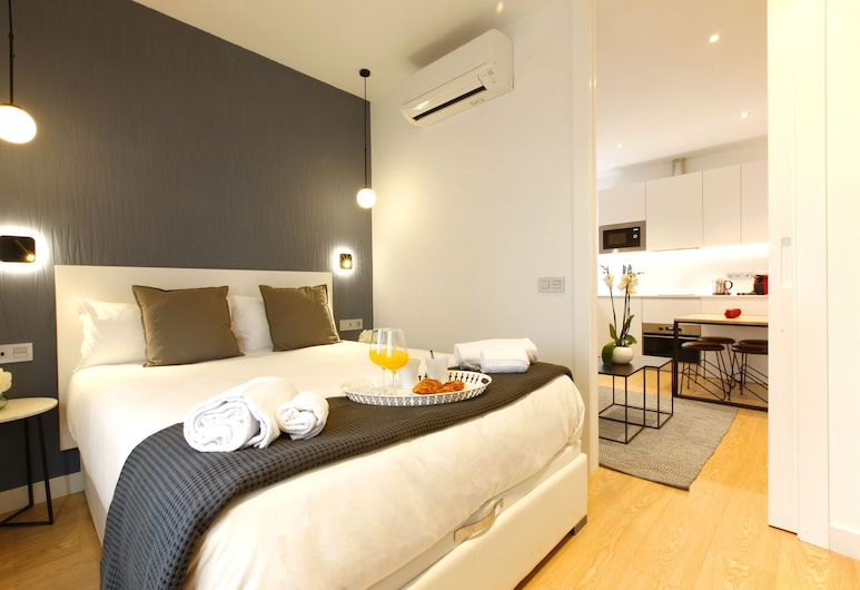 Charming Malasaña by Madflats Collection, Madrid, Apartment, 1 Schlafzimmer, Zimmer