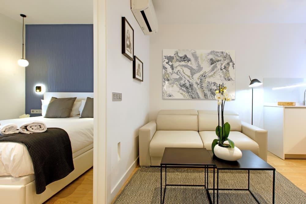 아파트, 침실 1개 - 거실