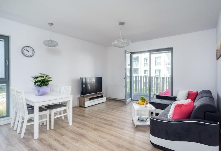 Elite Apartments By the Sea, Gdansk, Apartment, 2 Bedrooms, Ruang Tamu