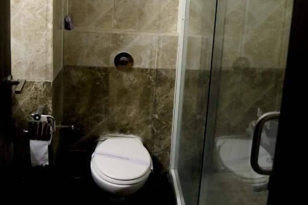 Superior-værelse med dobbeltseng eller 2 enkeltsenge - handicapvenligt - byudsigt - Badeværelse