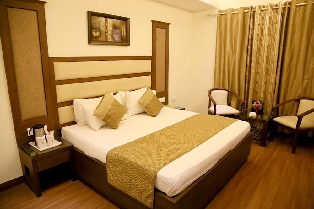 Superior-værelse med dobbeltseng eller 2 enkeltsenge - handicapvenligt - byudsigt - Gadeudsigt