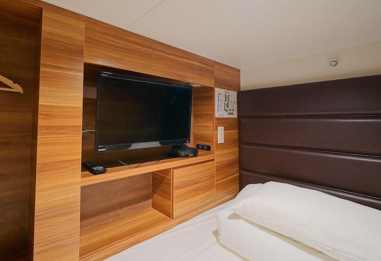 Hirosima no Oyado - Hostel, Hiroshima, Male Standard Capsule Room, Upper Bed, Guest Room