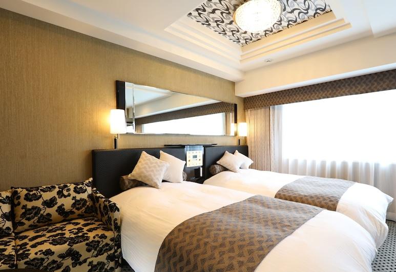新宿歌舞伎町中央區 APA 飯店, 東京, 豪華雙床房, 2 張單人床, 非吸煙房, 客房