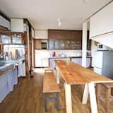 Spoločná zdieľaná izba, spoločná izba pre mužov aj ženy - Spoločná kuchyňa
