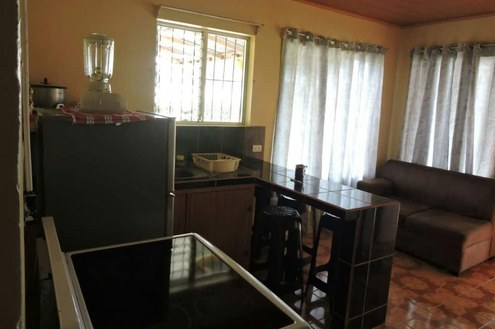 Basic Apartment, 2 Double Beds, Non Smoking - Living Area